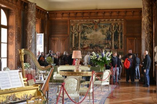 Château de Bizy : Grand salon