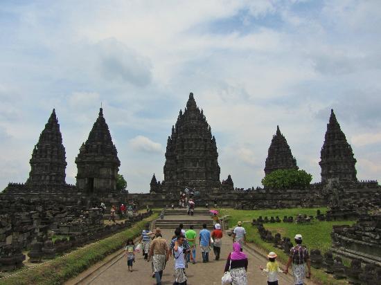 Sleman, Indonesia: Entrada Prambanan