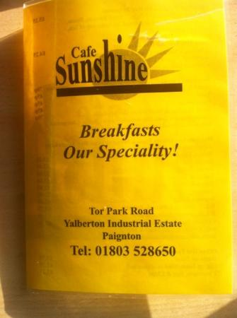 Sunshine Cafe and Take Away