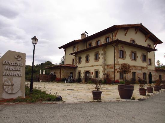 Hotel Rural Olatzea : Vista del Hotel Olatzea
