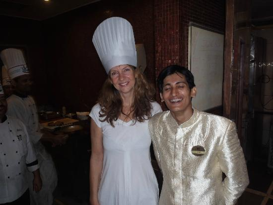 ITC Sonar : My wife who is a food lover with Rejan
