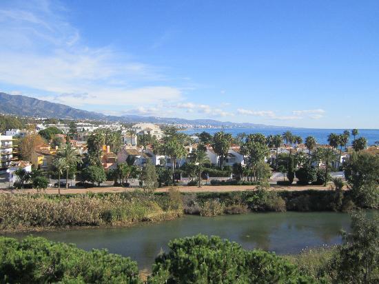 Melia Marbella Banus: View From Suite Balcony 6th Floor (Marbella)