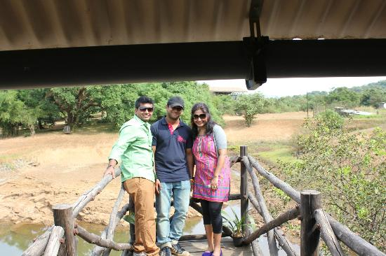 With Mr. Oscar from The Machan who ensured that our anniversary is made a pleasantly memorable