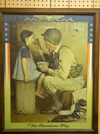 Norman Rockwell Museum : One of the covers displayed