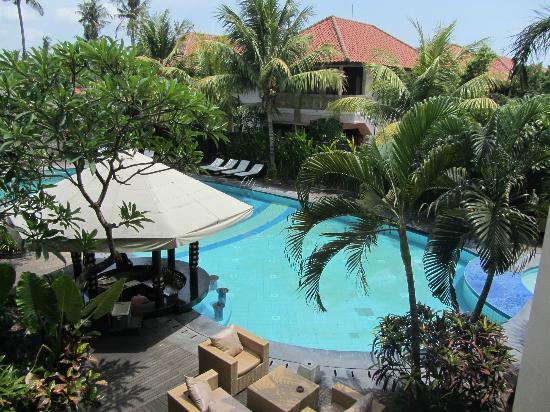Best Western Resort Kuta: Vista desde la habitación