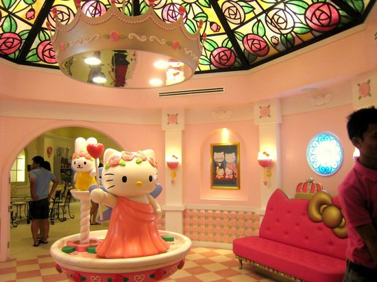 Sanrio Hello Kitty Town: hello kitty house