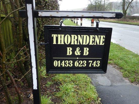 Thorndene B&B: Entree