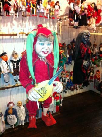 Design Hotel Josef Prague: Típica marioneta de Praga