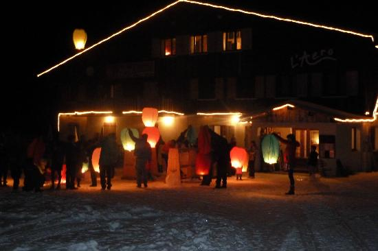 Chalet L'Aéro : New Years Eve