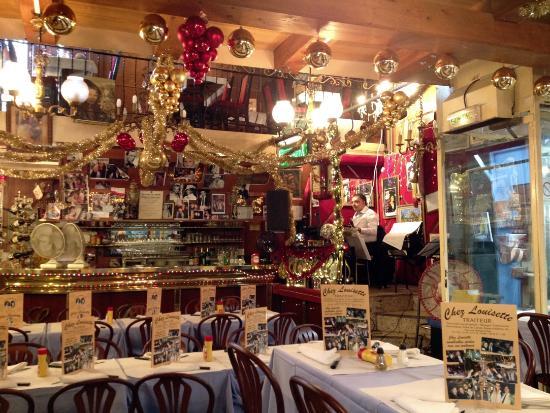Yep christmas is up all year picture of chez louisette - Restaurant africain porte de clignancourt ...