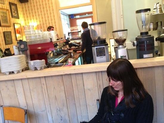 Li O Lait: li-o-lait: de warmte van een koffie