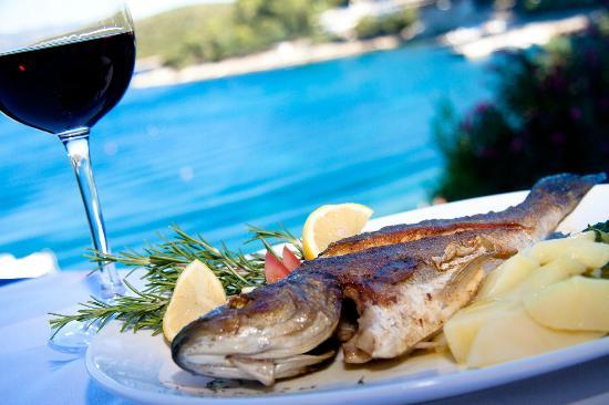 Hotel Korsal: Fresh fish