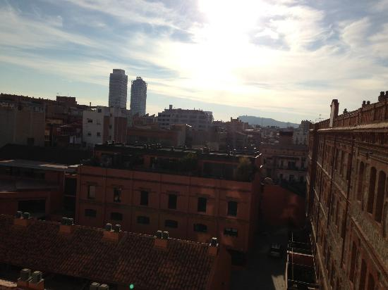 Hotel 4 Barcelona: view of the buildings from the room