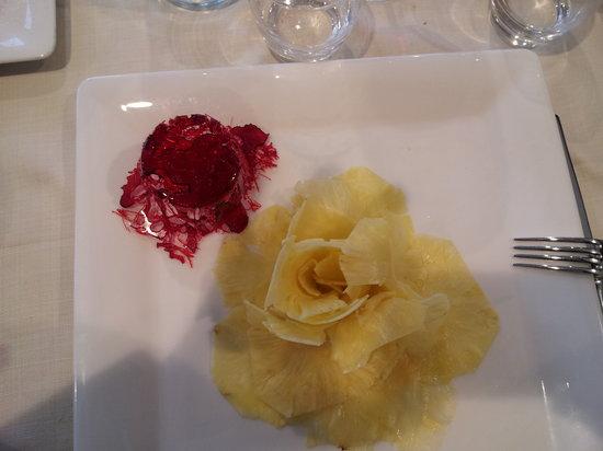 Lu' Restaurant & Bistrot: una rosa di ananas