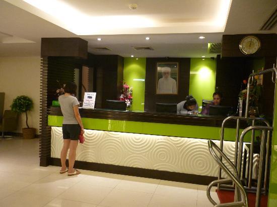 Citin Pratunam Hotel by Compass Hospitality: Hotel Lobby