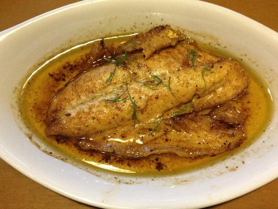 Balikbayan Restaurant: fish fillet meuniere