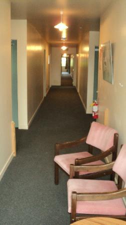 Kakapo Lodge YHA: Hallway.