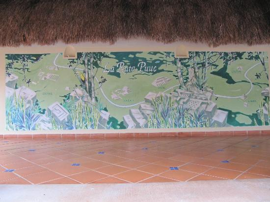 The Lodge at Uxmal: Plano de la zona