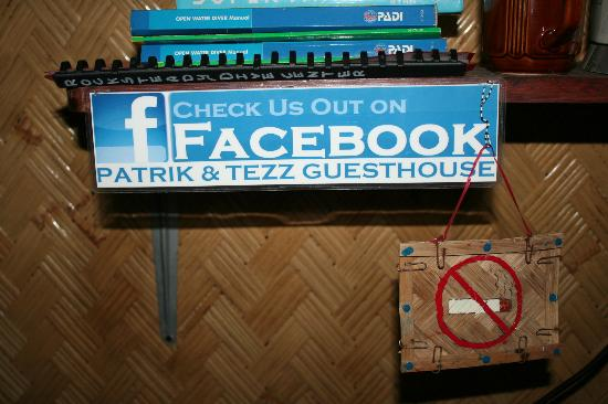 Patrik & Tezz Guesthouse: Check them out on FB!