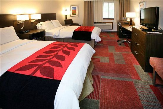 Radisson Hotel Madison: Guest room with 2 double beds