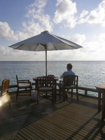 Baros Maldives: Lunch at the Lime Restaurant. Speaks for itself..