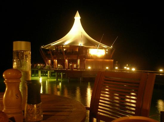 Baros Maldives: The glamorous Lighthouse Restaurant