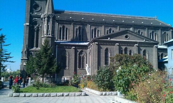 Jilin Catholic Church: jilin cathedral