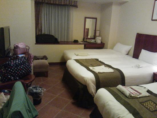 Hotel Monterey Kobe: Standard triple