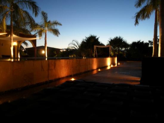 Ocean Maya Royale: Outside reception area