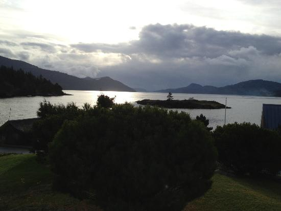 Outlook Inn on Orcas Island: View from our Room
