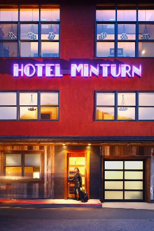 Hotel Minturn: entrance