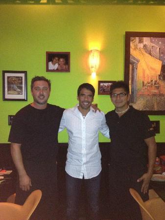 iL Ponte Vecchio Pizzeria : Pavel Pardo - Mexican Soccer Player
