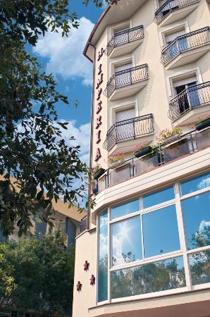 Hotel Imperiale: fronte angolo dell'Hotel