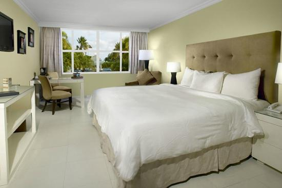 Brickell Bay Beach Club & Spa: Deluxe King Room