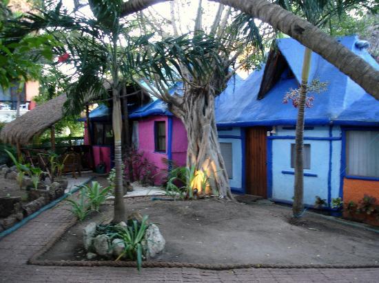 Amar Inn B&B: Some of the bungalows