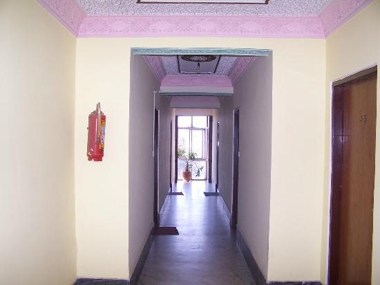 Hotel Kathmandu View: Inside Hotel
