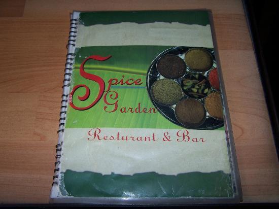 Hotel Kathmandu View: Spice Garden Menu