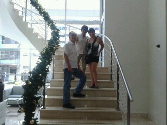 Clarion Victoria Hotel and Suites Panama: con mis papis