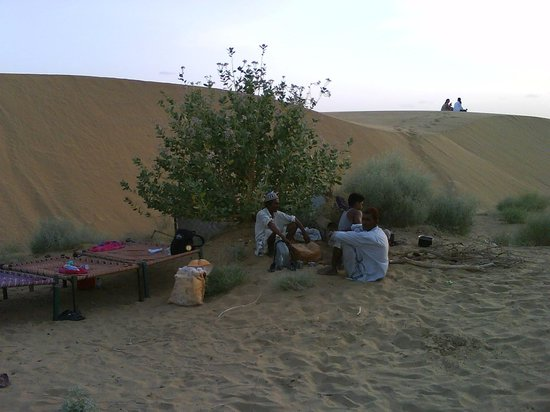 Mystic Jaisalmer Hotel: Our night camp.