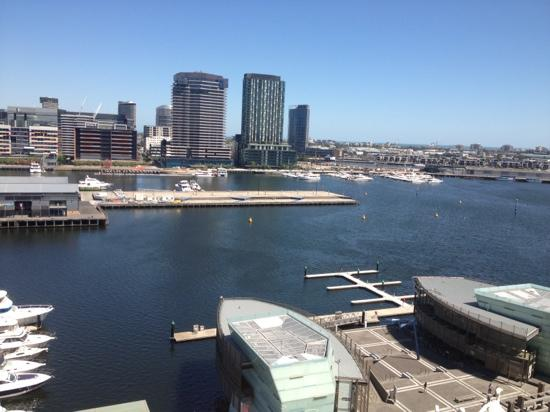 The Sebel Residences Melbourne Docklands: view from the window
