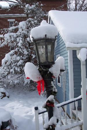 Inn on Main Street B&B: Winter wonderland