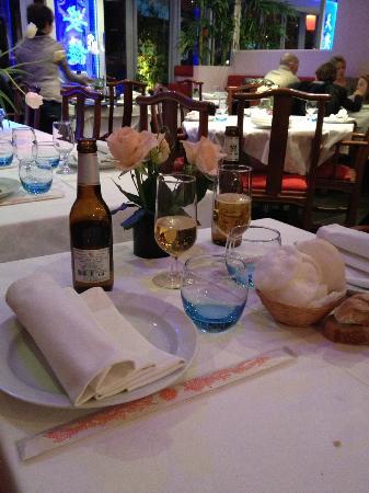 Le Lotus Bleu : tavolo