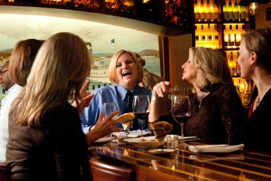 Griswold Inn: Fun in the Wine Bar - Wine, Women & Wednesday