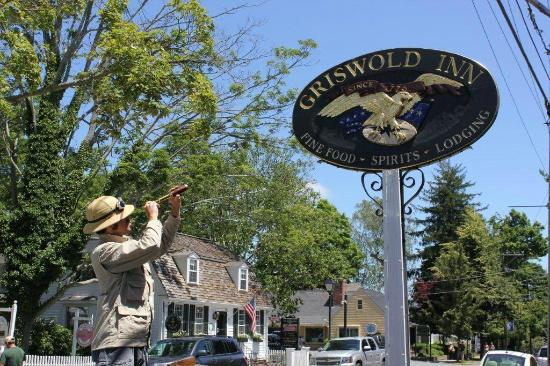Griswold Inn: A Curious Guest on Main Street