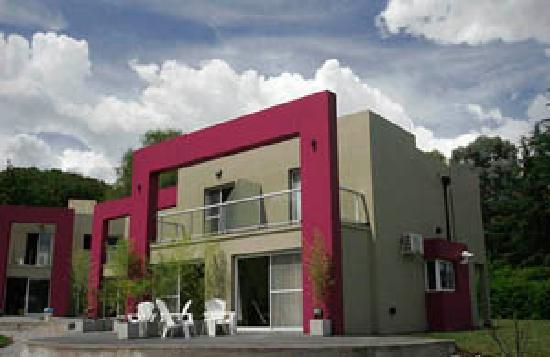 Apart Hotel Sierra de los Padres: Frente apart