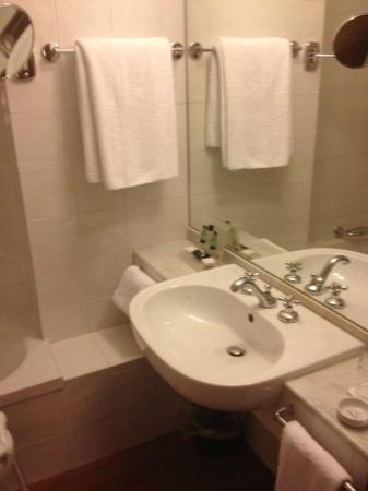 Hotel Londra: bagno