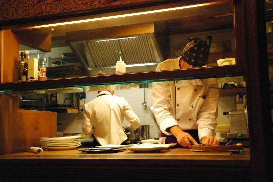 Enoteca Bibere: La cucina 