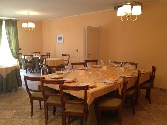 Hotel Ristorante Le Betulle: sala piano superiore