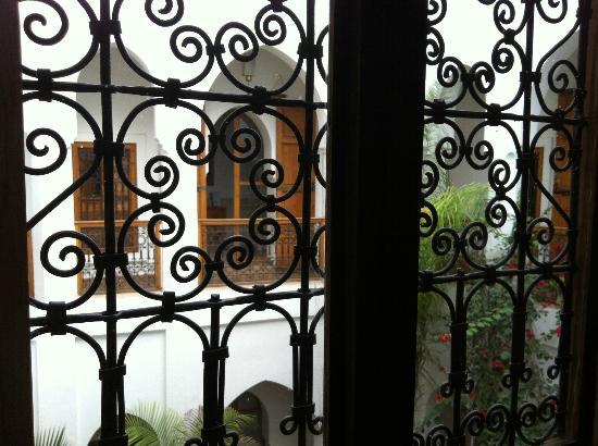 Riad Miski: Vista desde la ventana de nuestra habitación