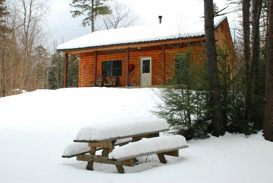 Sterling Ridge Resort: Cabin in the snow